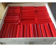 85 Shore A Red Polyurethane Rod