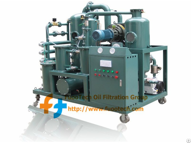 Series Zyd-i Double Stage Vacuum Transformer Oil Regeneration System