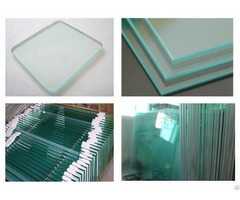 Tempered Glass For Railing And Balcony