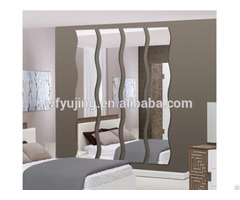 Modern Silver Dressing Mirror With Free Combination