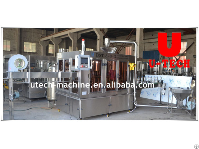 Cgf Series Mineral/pure Water Filling Machine(full-automatic)