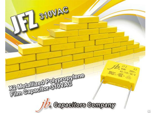 Jfz Metallized Polypropylene Film Capacitor