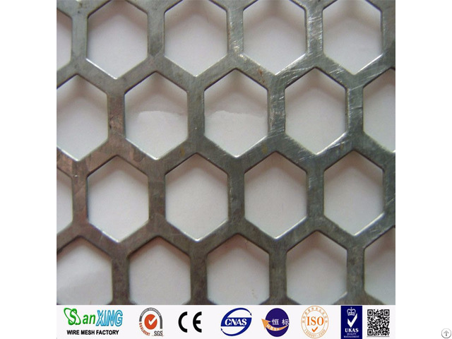 Dust Suppression And Wind Proofing Wall Perforated Metal Mesh
