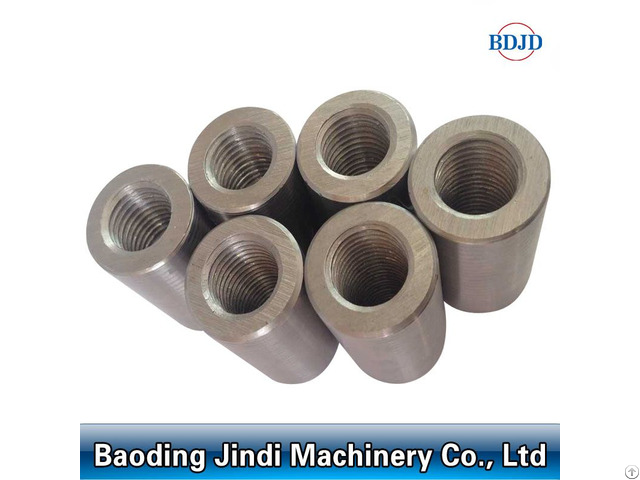 Threaded Steel Rebar Coupler D12 50