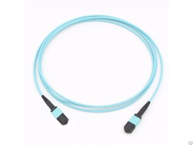 Mpo 8 Fiber Om3 Mm Optic Cable
