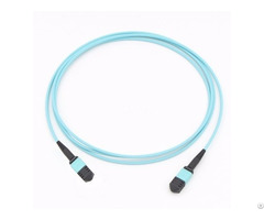 Mpo 8 Fiber Om3 Mm Optic Cable