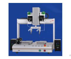 Xhl H5331s Desktop Double Station Automatic Soldering Machine