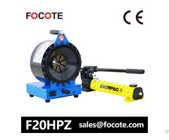 F20hpz Hydraulic Hose Crimping Machine