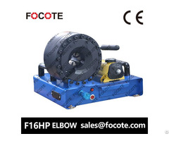 F16hp Elbow Hydraulic Hose Crimping Machine Feature Description: