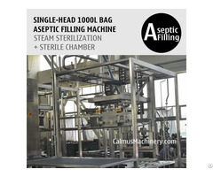 Single Head 1000 Litre Ibc Liner Bag Aseptic Filler