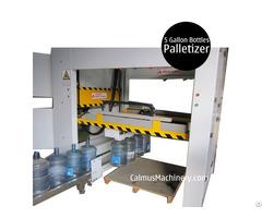 Semi Automatic 5 Gallon Bottle Palletizing Machine 19 20 Litre Jug Palletizer