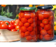 Canned Red Cherry Tomatoes