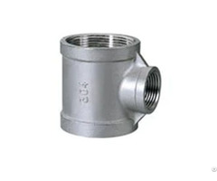 Butt Welding Seamless Pipe Joint Stainless Steel Reducing Tee