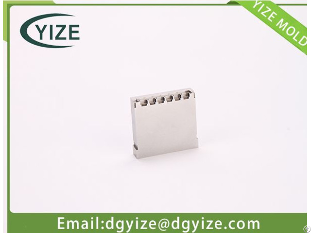 High Performance Plastic Mould Part Manufacturer Mold Insert For Automobile Connector