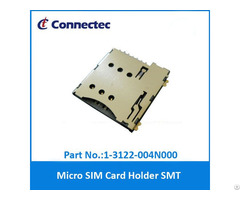 Micro Sim Push Type 6pin W Sw