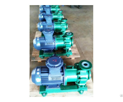 Cqb F Fluorine Plastic Liner Magnetic Drive Pump