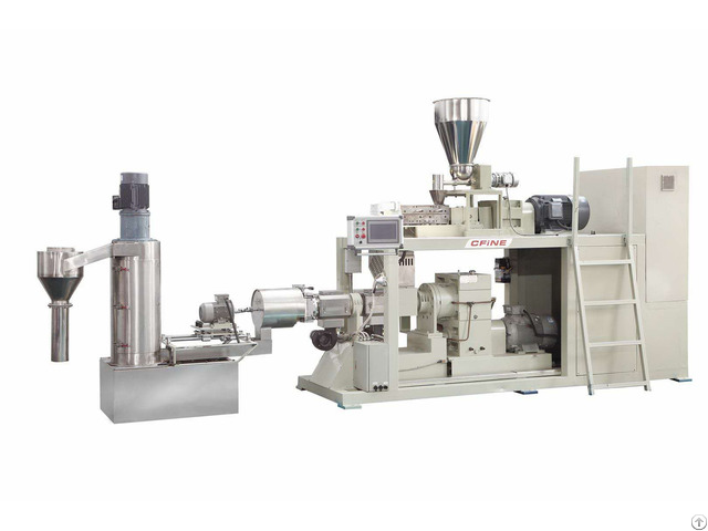 Plastic Compounding And Extruding Machine