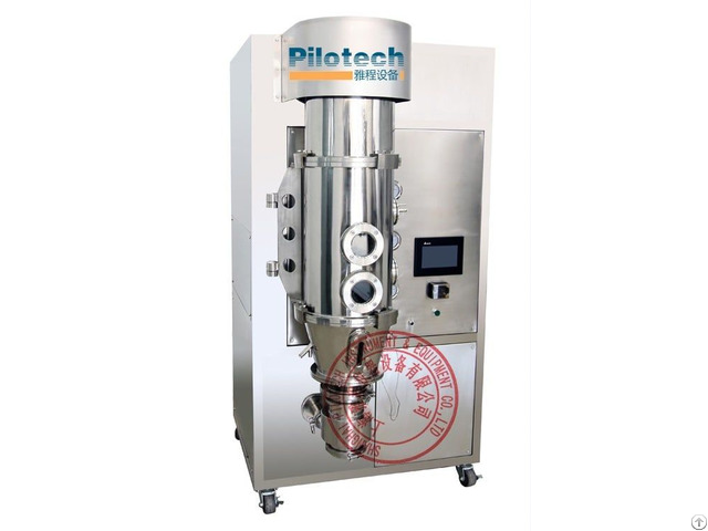 Yc 03 Lab Fluid Bed Processor For Granulator And Coating
