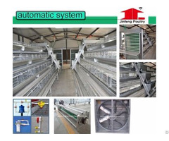2016 New Type  Layer Battery Chicken Cage With Manure Belts