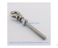 Stainless Steel Lifting Eye Bolt With Washer And Nut