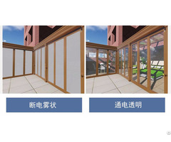 Electronically Controlled Atomized Projection Glass Film