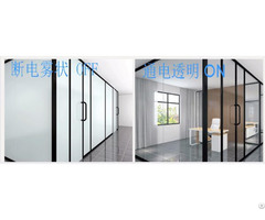 Household Partition Electronic Atomization Projection Color Changing Glass Film