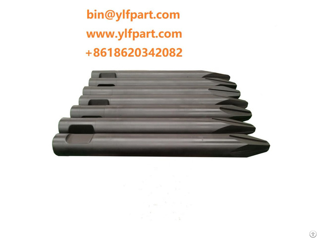 General Hydraulic Hammer Breaker Parts Chisel Moil Point