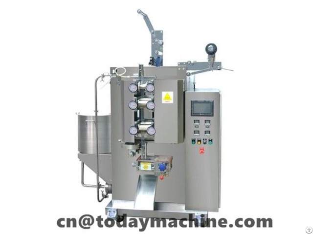 Liquid Small Sachet Continuousrollers Packager