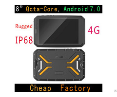 Cheapest Factory Hidon 8 Inch Ip68 4g Android Rugged Tablets