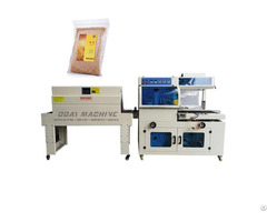 L Sealing Shrink Wrapping Machine Packaging Bread Biscuits Cake