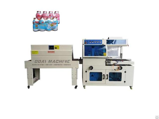 L Sealing Shrink Wrapping Machine Packaging Jam Honey Milk