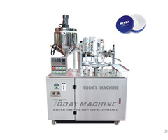 Semi Auto Soft Tube Filling And Sealing Machine For Cream