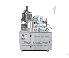 Semi Auto Soft Tube Filling And Sealing Machine