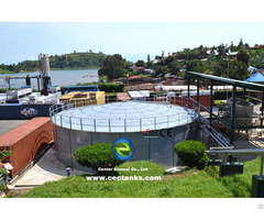 Bolted Steel Tanks As Uasb Reactor For Municipal Sewage Treatment Project