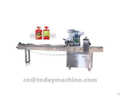 Automatic Multi Function Biscuit Chocolateflow Wrapper Packing Machine