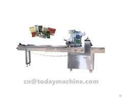 Flow Wrapping Machine Ice Lolly Wrappingflow Wrapper