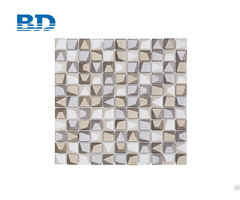 Mixed Stone Glass Mosaic 3d