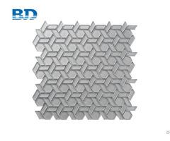 Long Hexagon Glass Mosaic