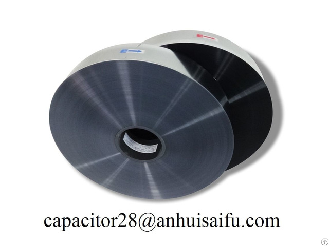 Pp Metallized Film For Capacitor With High Resistance