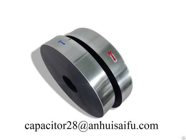 Bopp Safety Metallized Pet Roll Hot Aluminum Pattern Capacitor Film