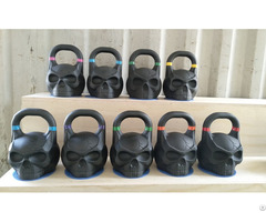 Powder Coated Skull Kettlebell