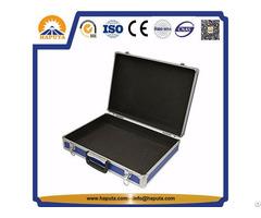 Blue Aluminium Hard Briefcase For Business Travel