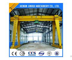 Capacity 10 100t Single Girder Gantry Crane