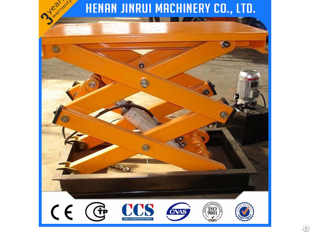 Hydraulic Fixed Scissor Lift Table 300 500 1000kg