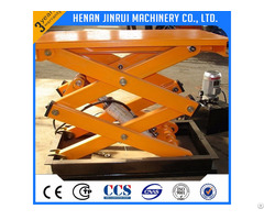 Hydraulic Fixed Scissor Lift Table 300 500 1000kg