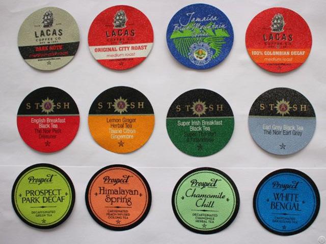Milk Tea Cup Lidding Films Rolls