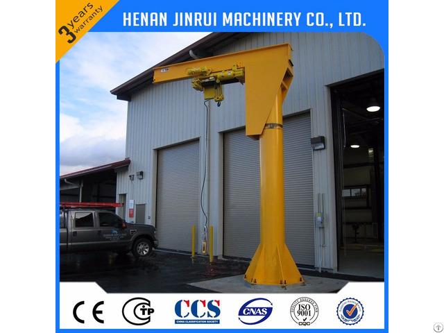 Supply 360 Degree Rotating Luffing 1 50ton Portable Jib Crane