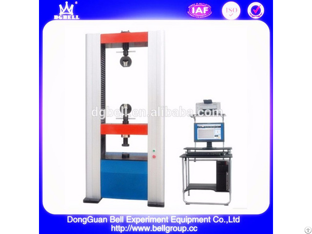 10kns Servo Control Universal Tensile Compression Test Machine