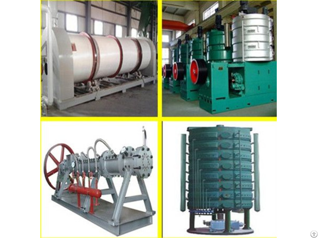 Oilseeds Processing And Pretreatment Machine