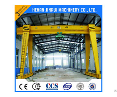 Capacity 10 100t Single Girder Gantry Crane